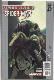 Ultimate Spider-man #25 Signed Art Thibert Green Goblin Sketch COA Ltd 25 Jay Company Originals